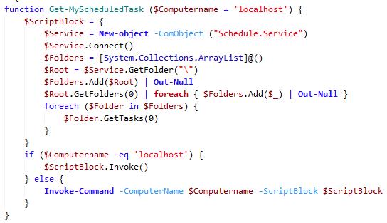 computer code screenshot