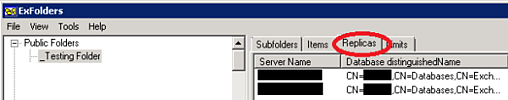 Public Folder Replicas