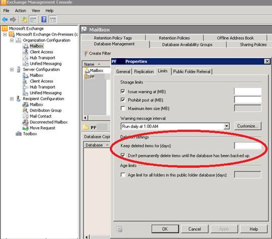 Exchange 2010 Public Folder Data Recovery