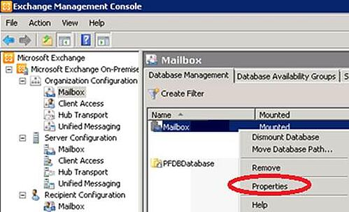 Exchange 2010 Public Folder Data Recovery Step 3
