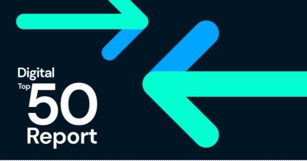 Digital Top 50 Report banner