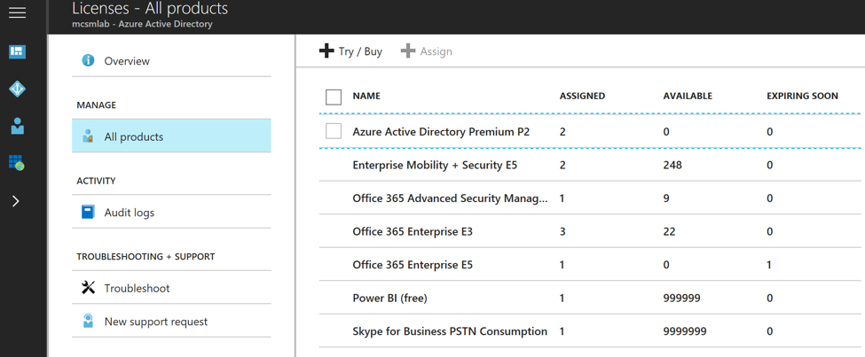 Assigning Office 365 Licenses by AD Group Membership