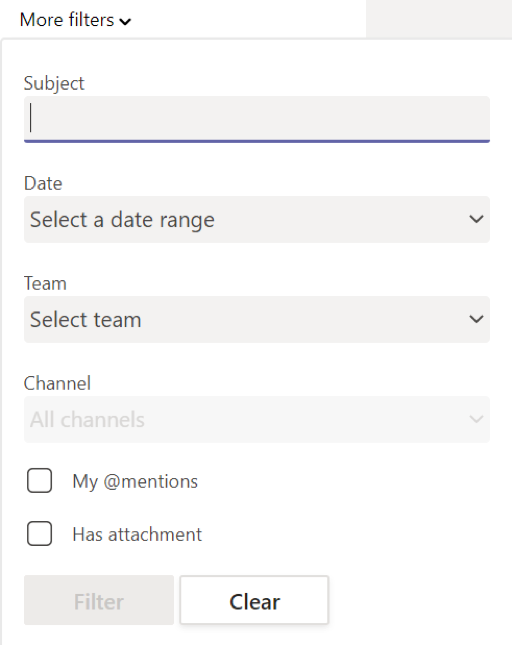 Teams_Search_Filter