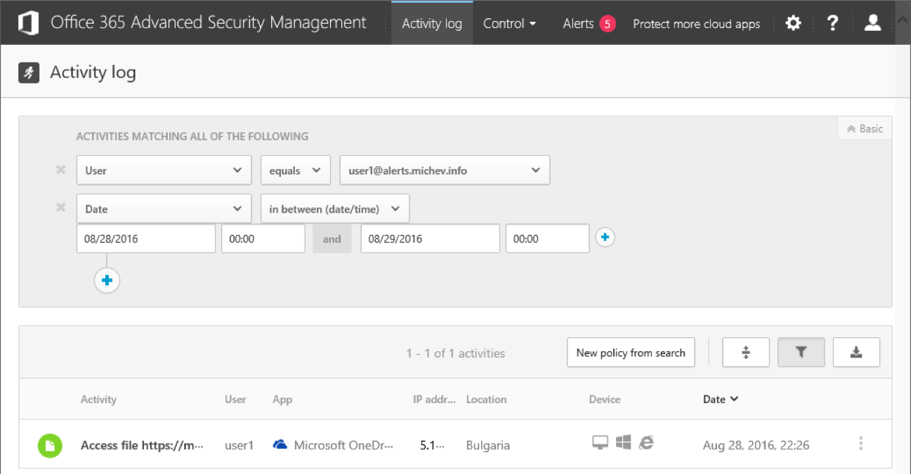 Advanced Security Management In Office 365 Part 2