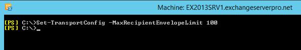 max-recipients