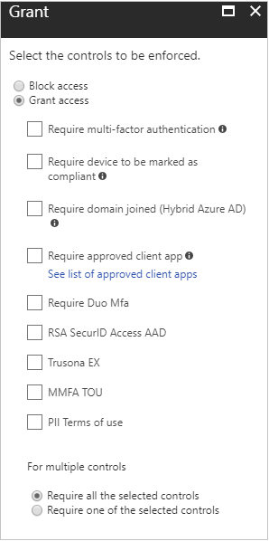 Conditional Access Azure Active Directory
