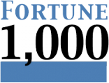 fortune 1,000 customer logo