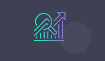 Data metrics icon