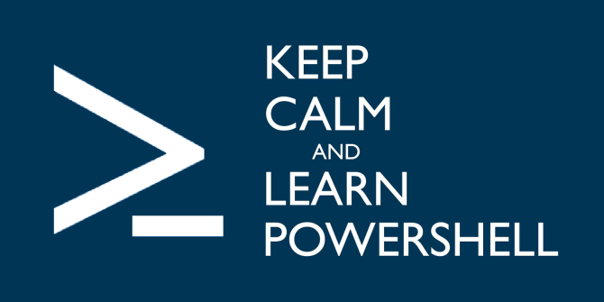 Keep Calm and Use PowerShell banner