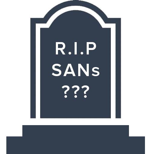 SANs tombstone
